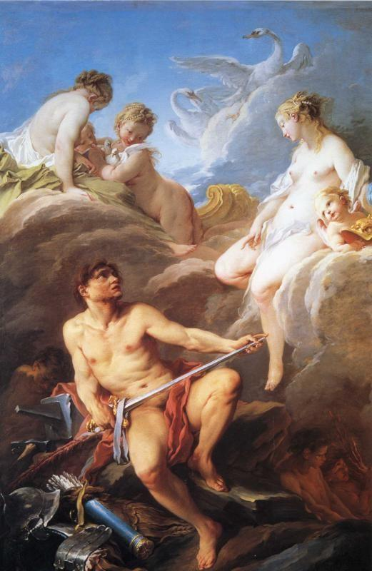 François Boucher. Venus at Vulcan's Forge.