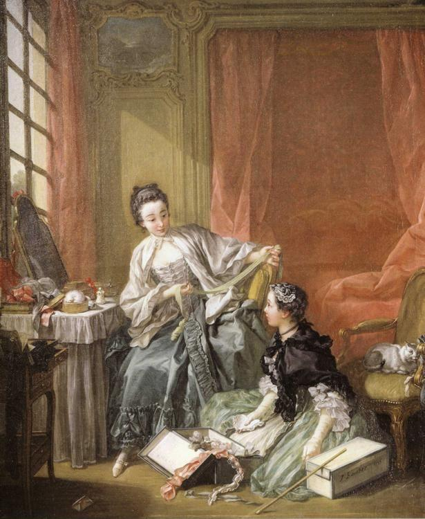 François Boucher. The Dressmaker.