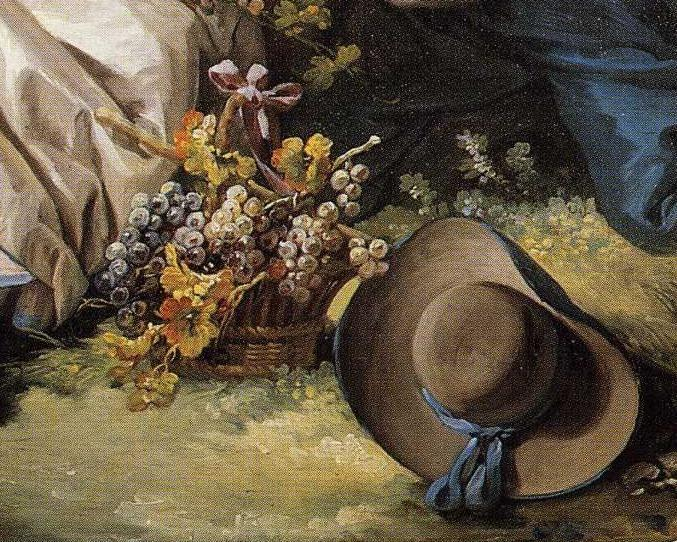 François Boucher. The Four Seasons. Autumn. Detail.