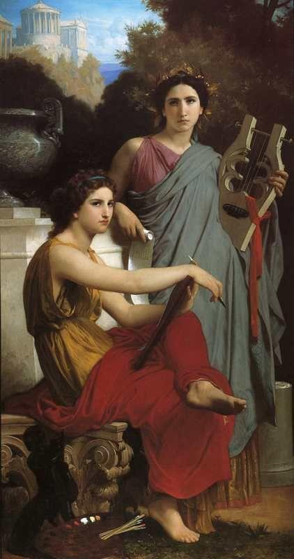 William-Adolphe Bouguereau. Art and Literature.