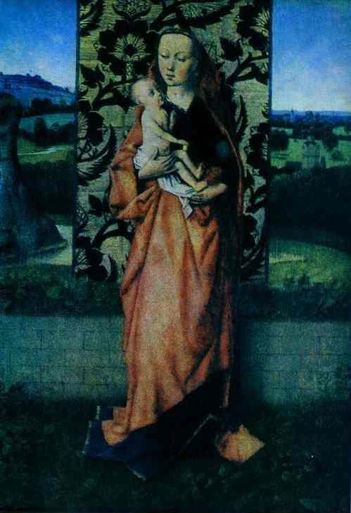 Dieric Bouts the Elder. Madonna with Child.