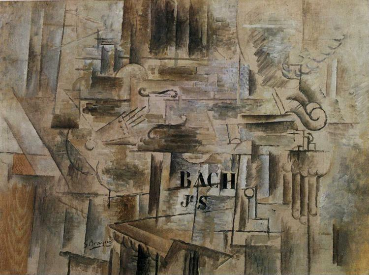 Georges Braque. Homage to J.S. Bach.