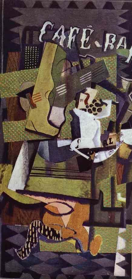 Georges Braque. Cafe-Bar.