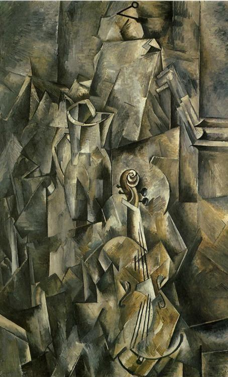 Georges Braque. Violin and Pitcher.