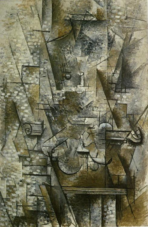 Georges Braque. Still Life with a Violin.