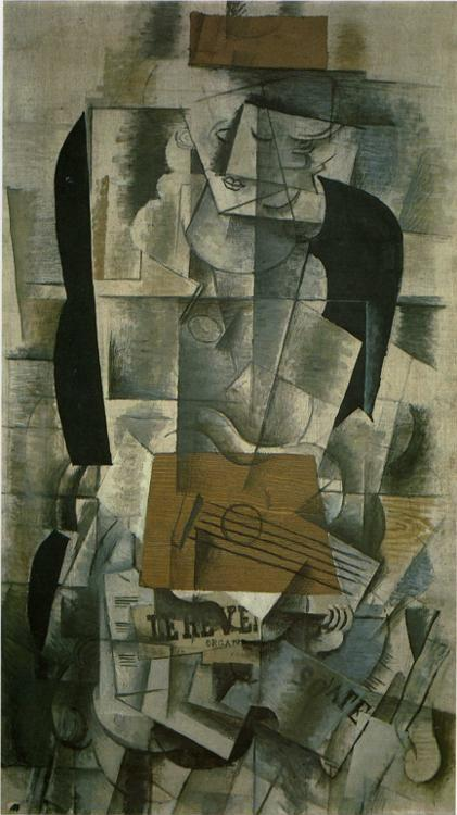 Georges Braque. Woman with a Guitar.