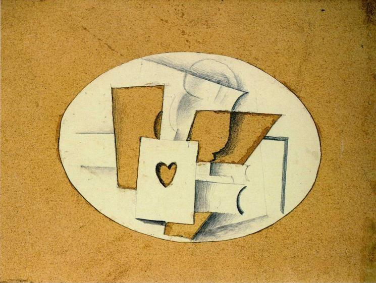 Georges Braque. Still Life with Ace of Hearts.