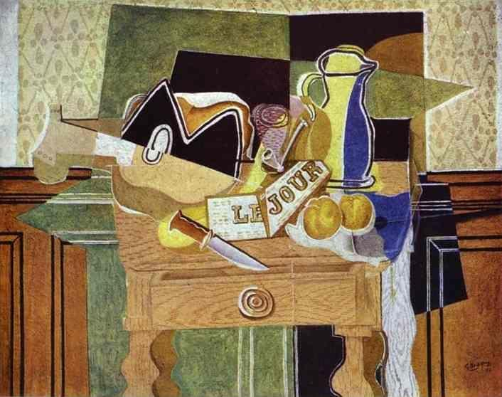 Georges Braque. Still-Life with Le Jour.
