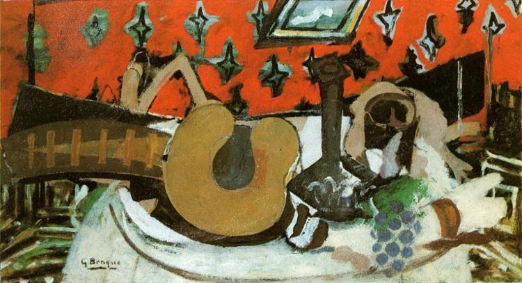 Georges Braque. Still-Life: Mandolin II.