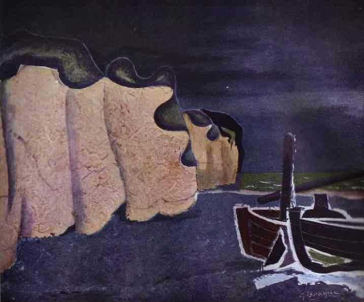 Georges Braque. Barques sur la Place.