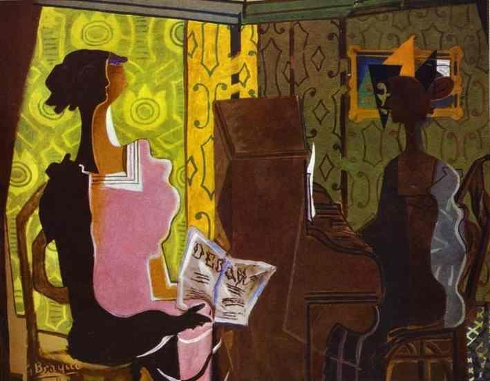 Georges Braque. The Duet / Le Duo.