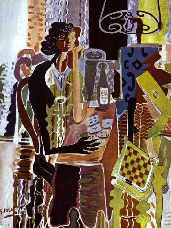 Georges Braque. La Patience.