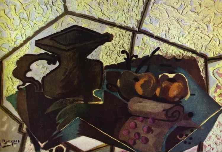 Georges Braque. The Green Napkin.