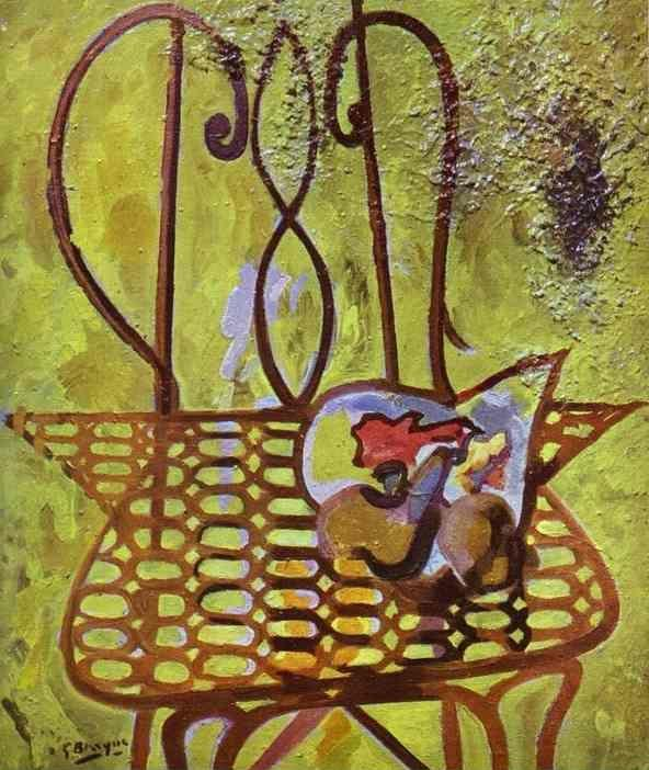 Georges Braque. The Chair / La Chaise.