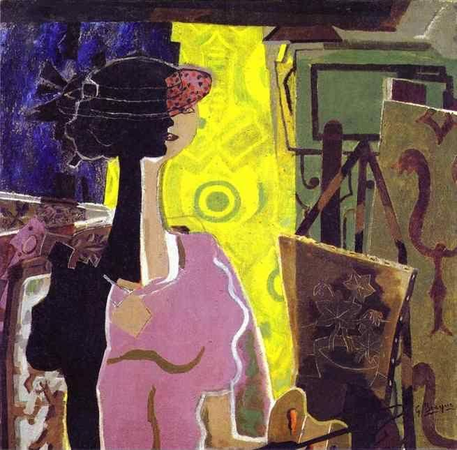 Georges Braque. Still Life with Grapes.