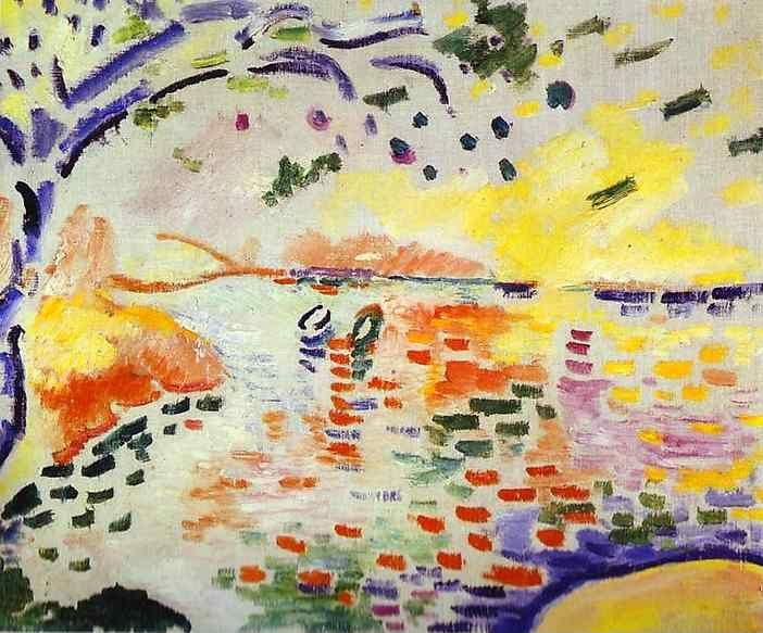 Georges Braque. The Little Bay at La Ciotata / La Petite Baie de La Ciotat.