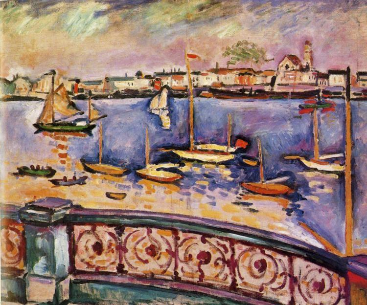 Georges Braque. The Port of Antwerp.