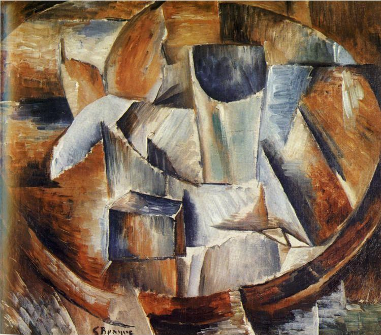 Georges Braque. Glass on a Table.