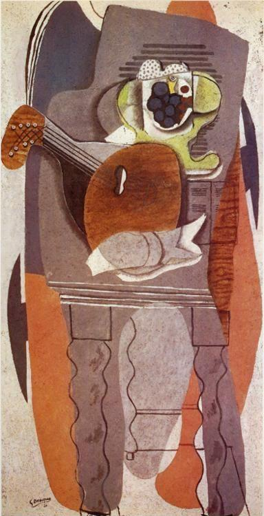 Georges Braque. The Gray Table.
