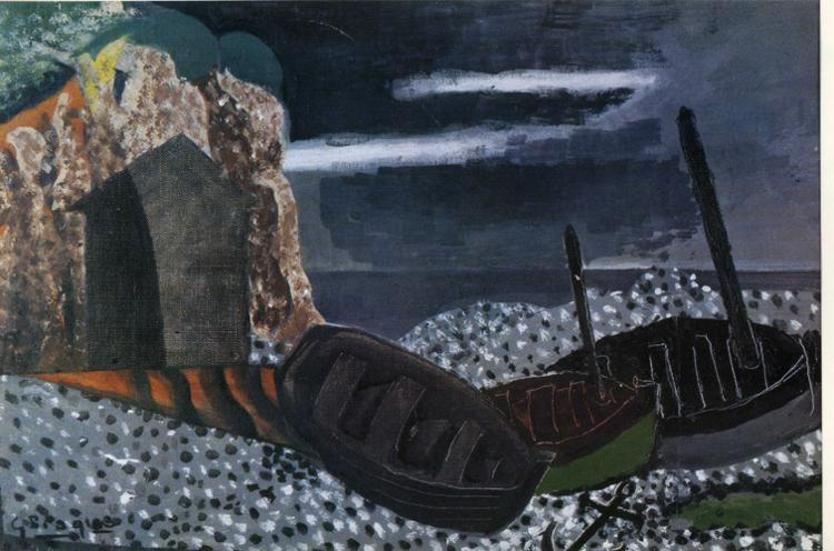 Georges Braque. The Three Boats.
