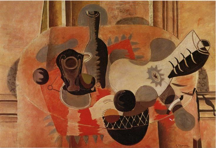 Georges Braque. Still Life with Guitar.