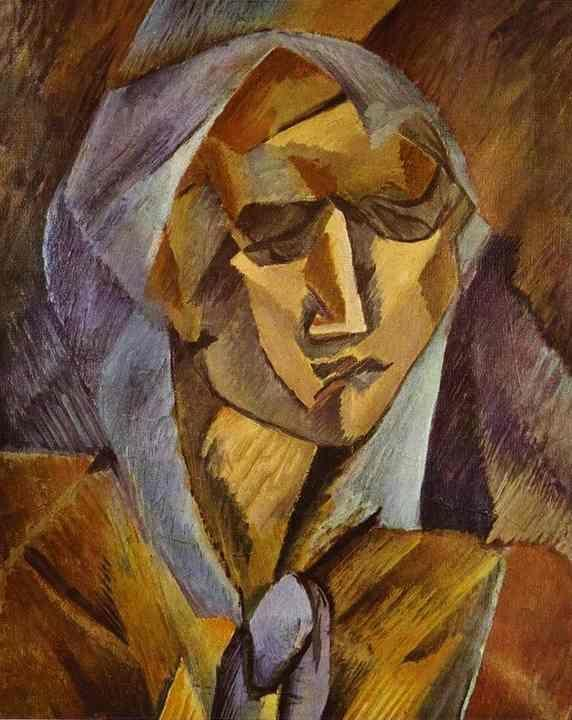 Georges Braque. Head of a Woman.