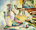 Georges Braque. Still-Life with Jugs and Pipe. La Ciotat.