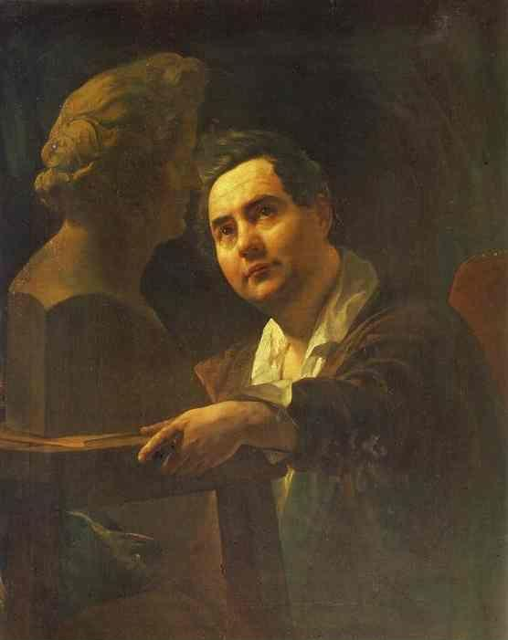 Karl Brulloff. Portrait of Sculptor I. P. Vitaly.