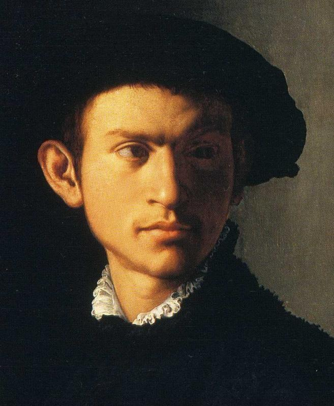 Agnolo Bronzino. Portrait of Young Man with a Lute. Detail - Olga's ...