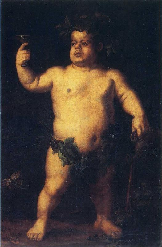 Agnolo Bronzino. Double Portrait of the Dwarf Morgante.