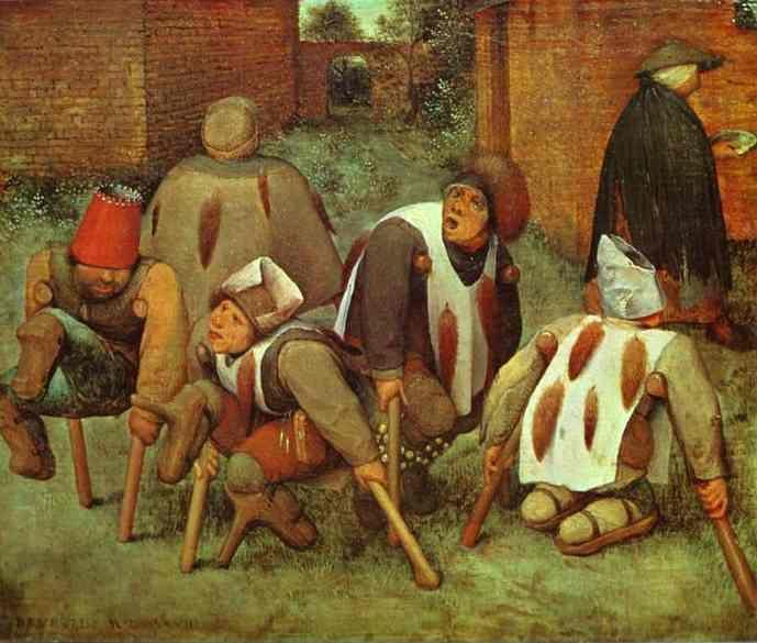 Pieter Bruegel the Elder. The Cripples.