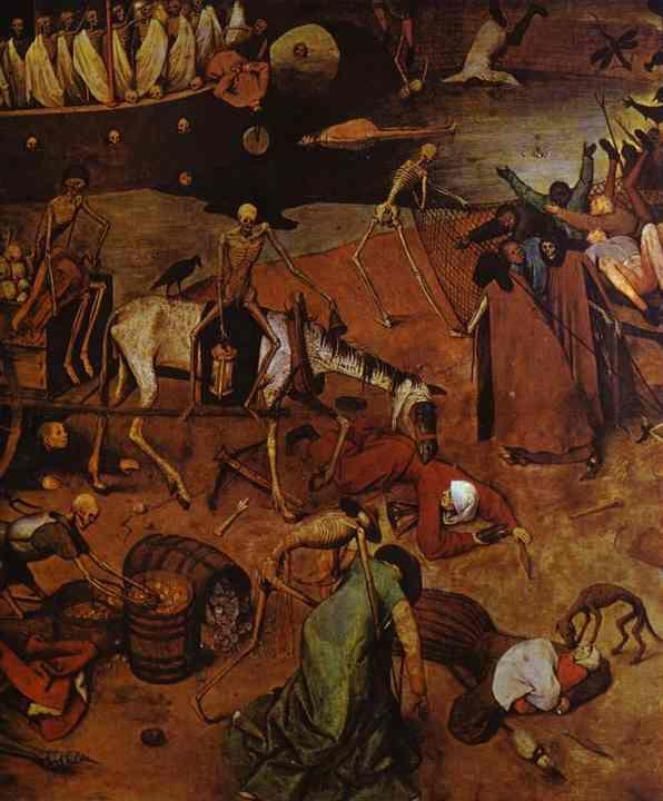 Pieter Bruegel the Elder. The Triumph of Death. Detail.