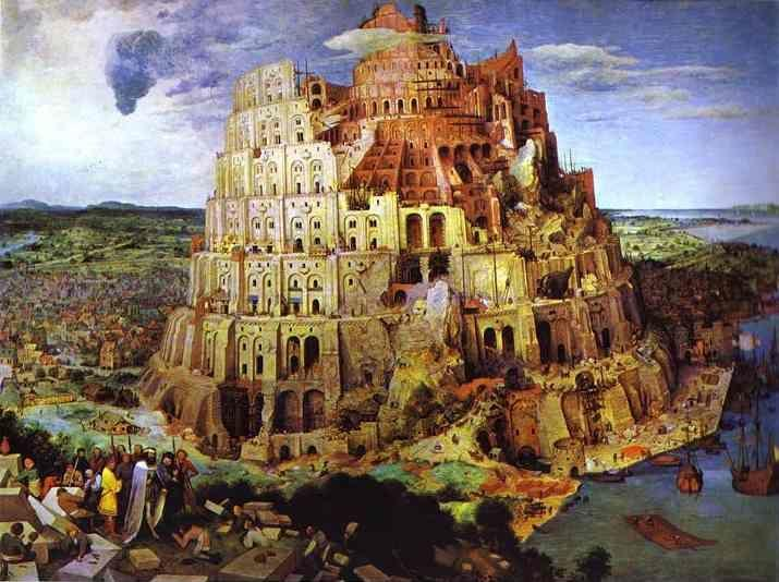 Pieter Bruegel the Elder. The Tower of Babel.