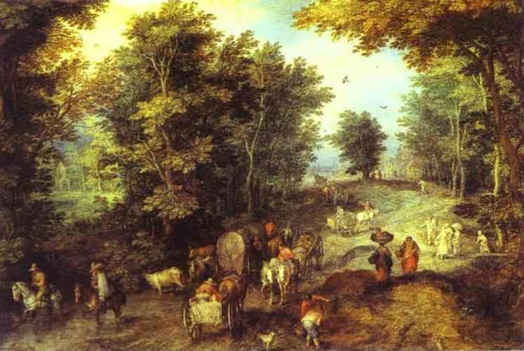 a life and works of jan brueghel the elder Father of pieter brueghel, the younger jan brueghel, the elder and  the 'h' from  his name and started signing his paintings as bruegel life.