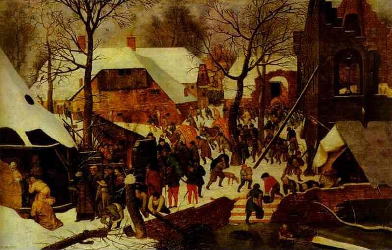 Pieter Brueghel the Younger. Adoration of the Magi.