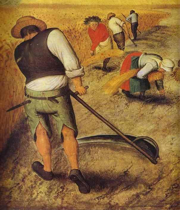 Pieter Brueghel the Younger. Summer. Detail.