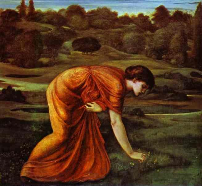 Sir Edward Burne-Jones. The March Marigold.