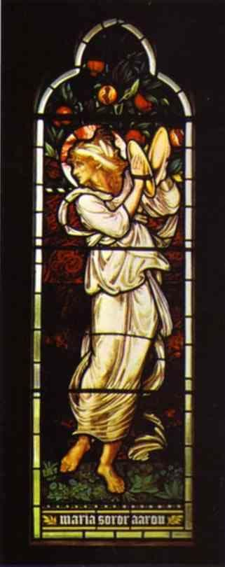 Sir Edward Burne-Jones. Miriam.