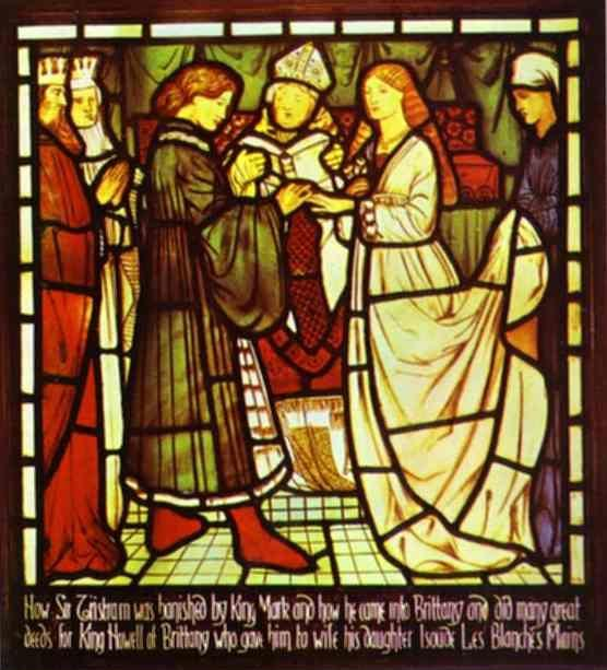 Sir Edward Burne-Jones. Wedding of Sir Tristram.