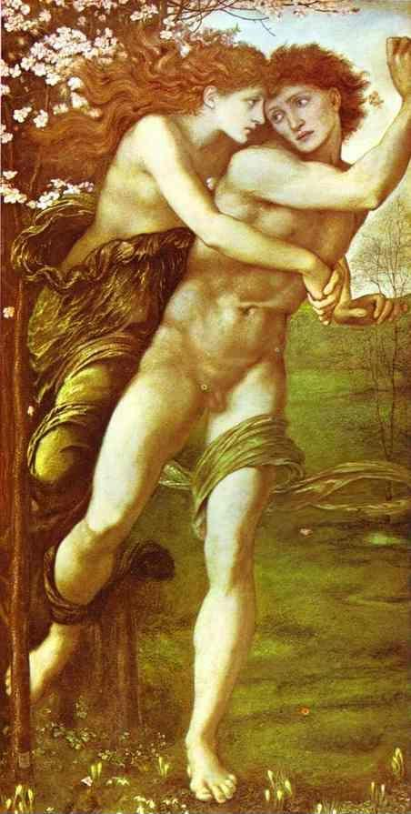 Sir Edward Burne-Jones. Phyllis and Demophoon.