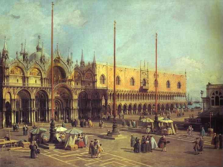 Canaletto. Piazza San Marco: Looking South-East.