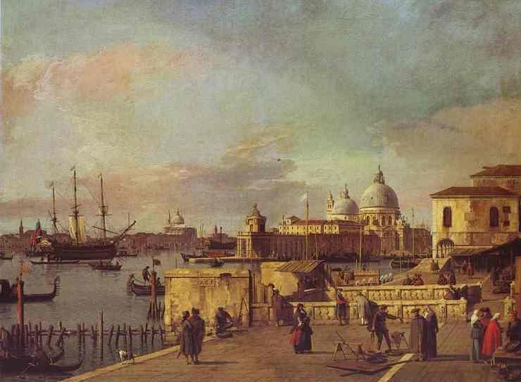 Canaletto. Entrance of the Grand Canal: from the West End of the Molo.
