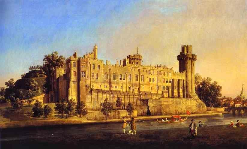 Canaletto. Warwick Castle: the South Front.