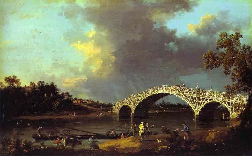 Canaletto. Old Walton Bridge.