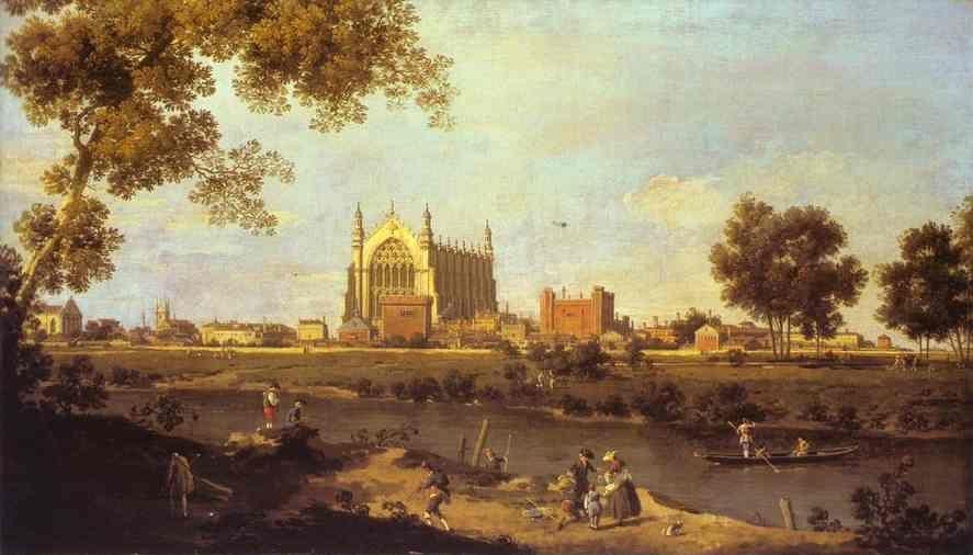 Canaletto. Eton College Chapel.