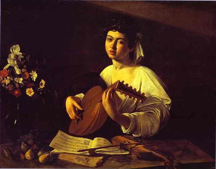 Caravaggio. The Lute-Player.