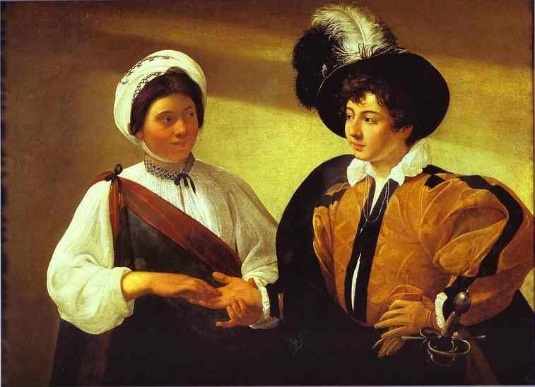 Caravaggio. The Fortune-Teller.