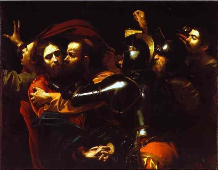 Caravaggio. The Betrayal of Christ.