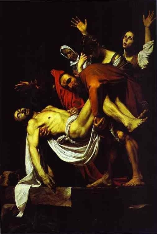 Caravaggio. The Entombment.