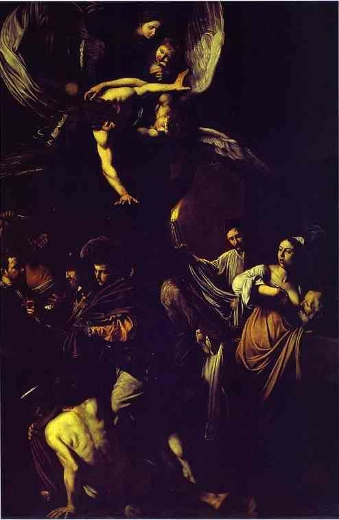 Caravaggio. Seven Works of Mercy.